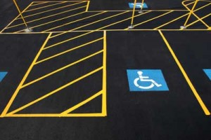 ada paving contractor handicap sidewalks and parking lot striping in Portland OR Gresham Beaverton Tualatin - Hal's Construction